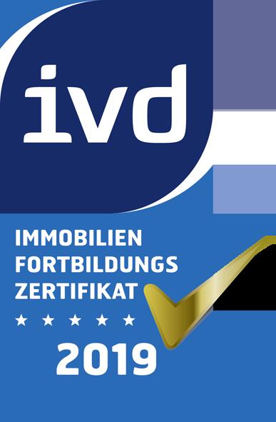 Immobilien Fortbildungs Zertifikat 2019
